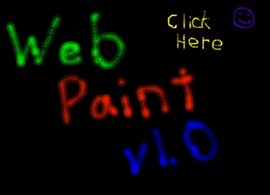 Web Paint is a browser based freeware paint application which requires Microsoft