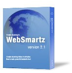 WebSmartz WebSite Builder software comes with Website templates, Flash intros, HTML templates, and Flash templates