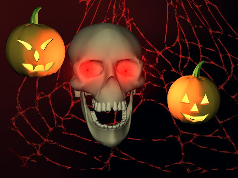 3D Halloween Horror screensaver 1.76