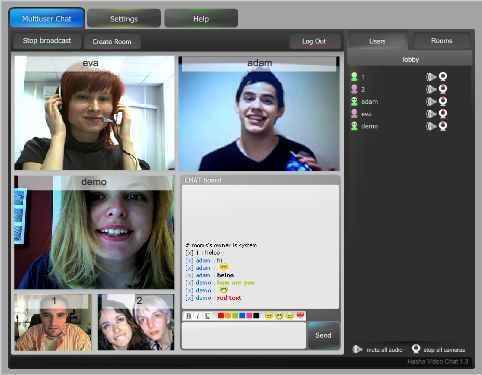 Chat live chow webcam