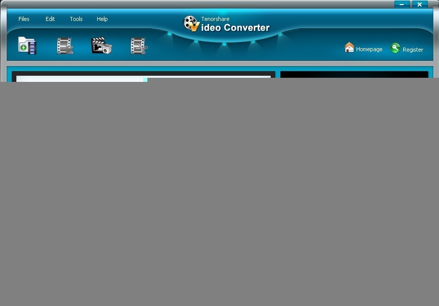 Tenorshare Video Converter. Convert Video Files Video Conversion Video Converter.
