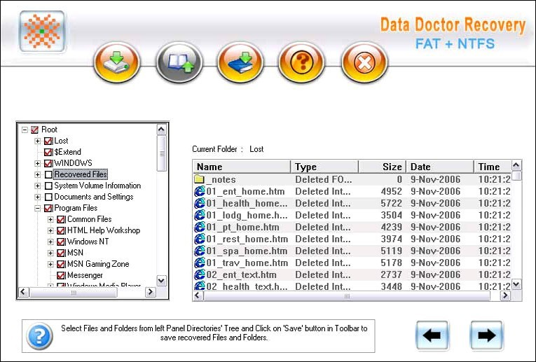 Windows XP Data Recovery Software 3.0.1.5