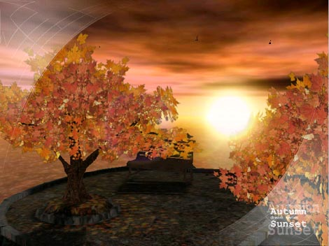 AD Autumn Sunset - Animated 3D Wallpaper 3.1