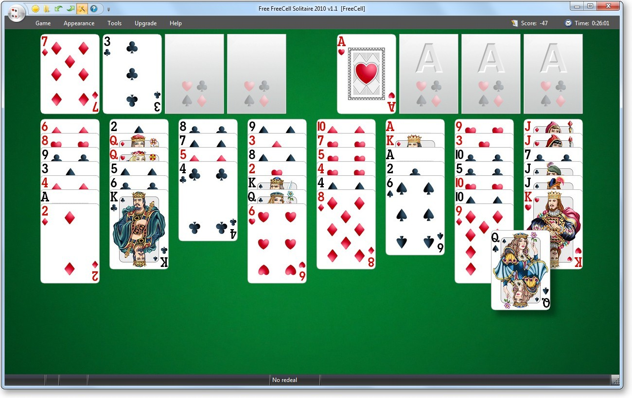 free 4 deck solitaire games