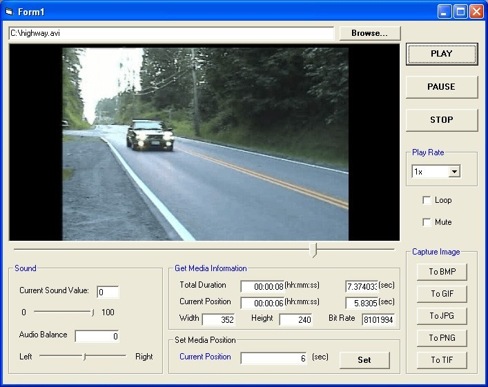 GOGO Media Player ActiveX Control
