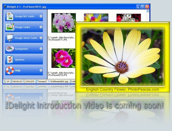 IDelight. Customize Desktop Slideshow Desktoppictureframe.