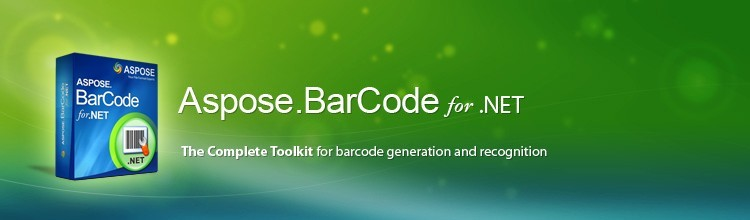 Aspose.BarCode for .NET. 1d 2d Barcodes Barcode Component Barcode Generation.