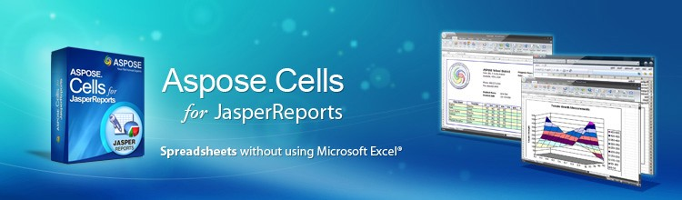 Aspose.Cells for JasperReports. Excel Charts Export Excel Charts Jasperreports Exporter.
