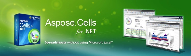 Aspose.Cells for .NET. Charts Excel Excel Component.