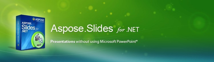 Aspose.Slides for .NET. .net Adding Fonts Background Pictures Pdf.