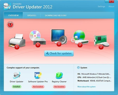 Carambis Driver Updater. Carambis Download Driver Updates.