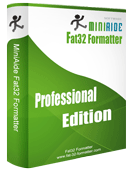 MiniAide Fat32 Formatter Professional Edition. Fat32 Format Fat32 Formatter Hard Disk Manager.