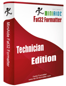 MiniAide Fat32 Formatter Technician Edition. Fat32 Format Fat32 Formatter Hard Disk Manager.