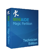 Miniaide Magic Partition Technician Edition. Hard Disk Manager Magic Partition Miniaide.