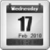 Digital Clock and Full Date Calendar. Actionscript Audio Flash Components.