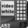 HTML / XML Video Gallery White AS2. Actionscript Audio Flash Components.