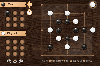 Multiplayer Nine Men's Morris. Board Board Game Chess.