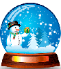 Snowman Snow Globe. Christmas Desktop Desktop Christmas Tree.
